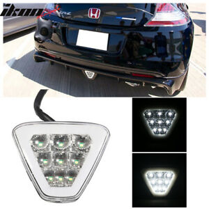 Universal Triangle Clear Led Rear Tail 3rd Brake Lights Safety Lamp