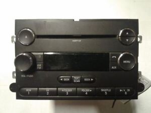 Radio Receiver Am Fm Cd Player Single 2008 08 Ford Expedition 8l1t 18c869 Cb