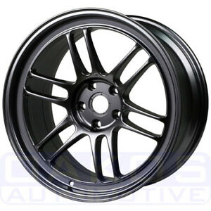 Enkei Rpf1 Wheel 18x9 5 15mm 5x114 3 Gunmetal Individual Rim For Evo 350z