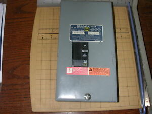 Square D Qo2 4l70s 70a Load Center With 30 Amp Breaker