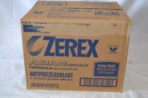 Zerex 861398 Asian Vehicle 1 Gal 50 50 Premixed Antifreeze 6pk New Free Ship