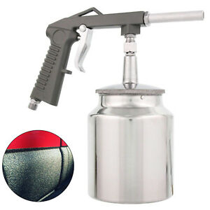 Undercoating Spray Gun Kit Suction Feed Cup Auto Pneumatic Air Truck Bed Liner
