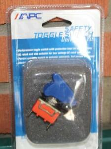 Toggle Switch Universal Fit Apc For Nos Fog Lights Safety Toggle Switch Blue New