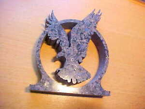 Unique Granite Stone Waterjet Water Jet Carving American Flying Eagle Figurine