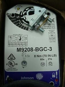 Johnson Controls M9208 bgc 3 Actuator Ships On The Same Day Of The Purchase