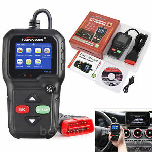 Kw680 Obd2 Obdii Can Vehicle Engine Diagnostic Scanner Fault Code Reader scan