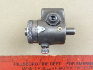 Very Nice South Bend 9 10k Lathe Micrometer Carriage Stop
