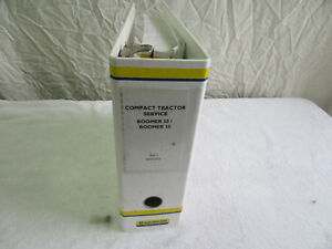 New Holland 1 Shop Service Manual Boomer Tractor 30 35 84373326