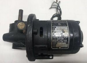 Vintage Bodine Electric Company Speed Reducer Motor Type Nsi 12rg