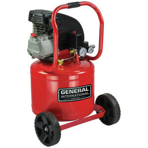 General International Ac1104 2hp 11 Gal Air Compressor W Wheels New