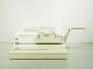 Gbc Electric Image maker 3000 Comb Binder Easy To Use Tested Working