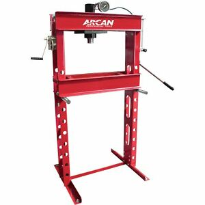 Arcan Professional Hydraulic Shop Press 30 Ton Model Cp300