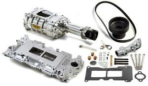 Weiand Supercharger System Roots 142 Series Polished Chevy Small Block Kit 65071
