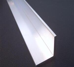 Us Stock 2pc 25mm X 50mm X 250mm 9 84 Long 4 5mm Thick 6063 T5 Aluminum Angle
