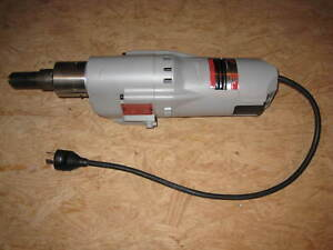 Milwaukee Core Drill Model 4090 2 Speed 750 375 Rpm 2 1 2 To 8 120 Volt