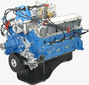 Blueprint Engines Ford 302 C I D 235hp Dressed Crate Engine Bp3023ctc