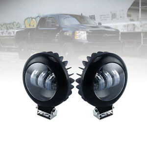 Round Led Work Light Ree High Power Spot Beam Offroad Driving Lighting Suv Lamp