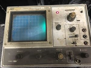 Bk Precision 10mhz Oscilloscope 1466 As Is
