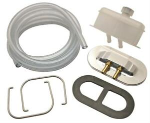 Classic Performance Master Cylinder Reservoir Remote Style Plastic White Cap Kit