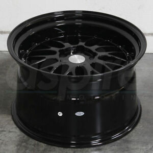 19 Esr Sr05 Wheels 19x8 5 5x120 35 Gloss Black Rims Fits Bmw 325 328 Z4 Set 4