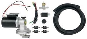 Electric Vacuum Pump Set For Power Brakes Universal Fit