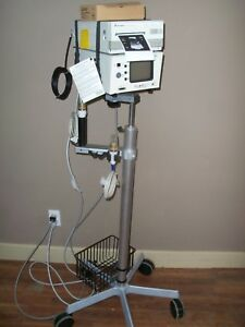 Bard Site Rite 3 Portable Ultrasound With Printer Stand And 2 Probes