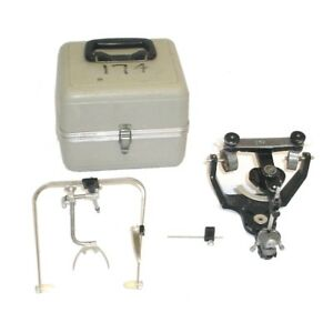 Denar Teledyne Hanau Wide vue Ii Dental Articulator W case Bow 7