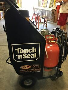 Touch N Seal Cpds Series 2 Spray Foam Dispense Unit W 750 Floor Model Used