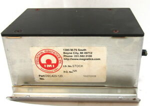 Industrial Magnetics Demagnetizer Dsc423 120