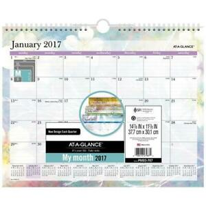 At a glance Pm83707 Dreams Monthly Wall Calendar