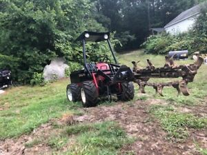 Powertrac 3pt Front Mounted Hydraulic Trencher 4 Skid Steer Or Dingo