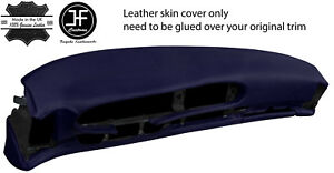 Dark Blue Leather Oval Dash Dashboard Cover For Porsche 944 968 86 95 Style 2
