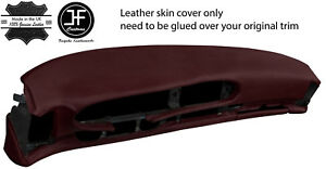 Burgundy Leather Oval Dash Dashboard Cover For Porsche 944 968 86 95 Style 2