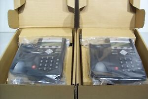 Lot Of 2 Brand New Polycom 2200 12375 025 Soundpoint Ip 335 Voip Phones