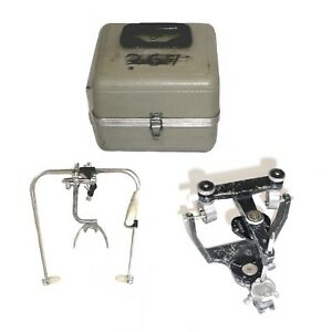 Denar Teledyne Hanau Wide vue Ii Dental Articulator W case Bow 12