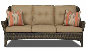 Fleur De Lis Living Rouse Patio Sofa With Cushion