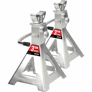 Arcan Aluminum Jack Stands 3 Ton Capacity Pair Model Ajs3t