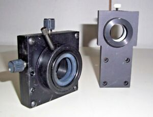 Qty 2 Newport Stages Mounts Lp 1 Laser Optics