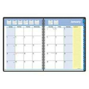 At a glance Monthly Planner 2ppm Jan dec 20 Note Pages 8 75x6 88in