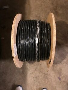 Black Stranded 500ft 6 3 Romex Simpull Cu Nm b W g Building Electrical Wire