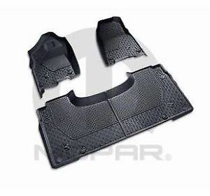 2019 Dodge Ram 1500 Dt Quad Cab All Weather Floor Mats Front Rear Slush Mats