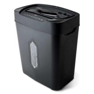 12 Sheet Crosscut Paper And Credit Card Shredder With 5 2 Gal Wastebasket New