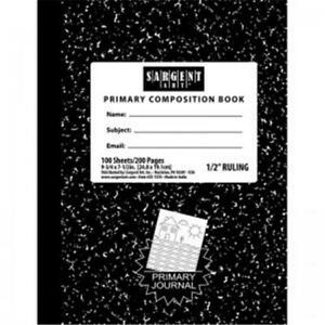 Sargent Art Hard Cover Ruled Composition Notebook 100 Sheets Per Pack 12 Each