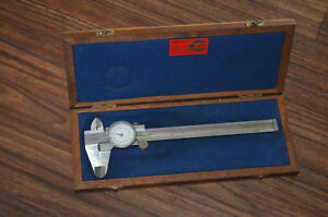 Alina Dial Indicator Interapid Calirapid With Wooden Box 1960 s