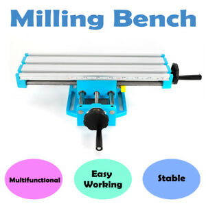 54mm X Axis Range 194mm Y Axis Range Milling Machine Bench Working Table Set