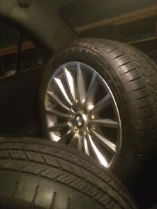 Bmw 245 45r18 Runflats Wheels And Tires