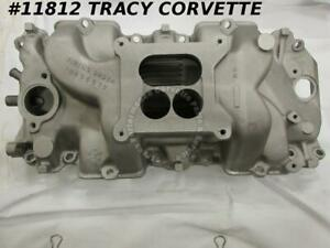 1965 Corvette 396 Big Block Intake Manifold 3866963 425hp Winters Dated 5 17 65