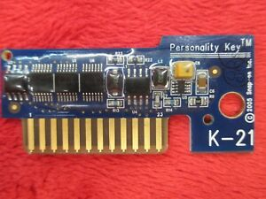 Snap On Tools Personality Key K21 K 21 For Solus Scanner Analyzer Obdii Mt2500