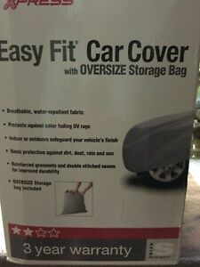 Breathable Lining Multi Layer Waterproof Car Cover For Small Cars Auto Xpress