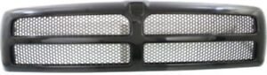 Black Grill Assembly For Dodge Ram 1500 Ram 2500 Ram 3500 Grille